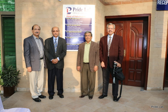 lahore based medical labortary Pride Lab Pathologist Team